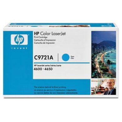 HP C9721A (641A) - originální - Cyan na 8000 stran(011-00911)
