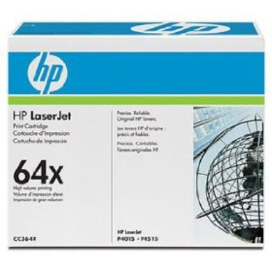 HP CC364X (64X) - originální - Černá velkoobjemová na 24000 stran(011-02255)