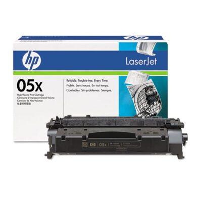 HP CE505X (05X) - originální - Černá velkoobjemová na 6500 stran(011-02265)