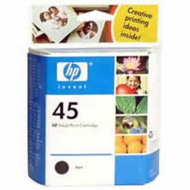 HP 51645A (45) - originální - Černá na 833 stran(031-00700)