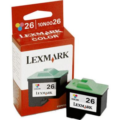 Lexmark 10N0026E (26) - originální - Barevná velkoobjemová na 275 stran(031-01670)