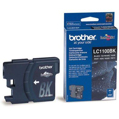 Brother LC1100BK - originální - Černá na 450 stran(031-03270)
