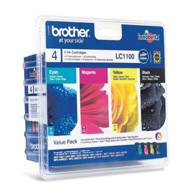 Brother LC1100BCMY - originální - Černá + sada barev(031-03275)