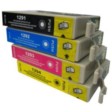 Epson T1295 - kompatibilní - sada barev  Bk/C/M/Y(031-03544)