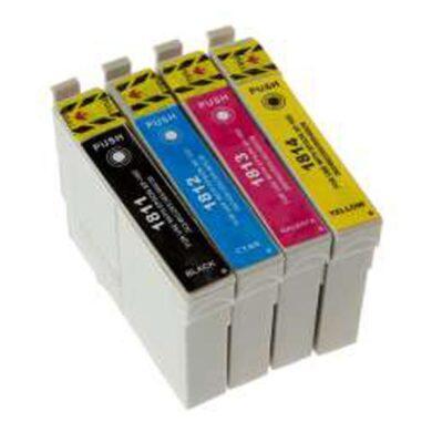 Epson T1816 (18XL) - kompatibilní - sada barev  Bk/C/M/Y(031-04074)
