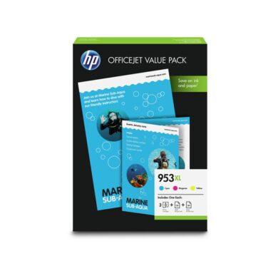 HP 1CC21AE (953XL) - originální - Sada barev (C-M-Y)(031-04469)
