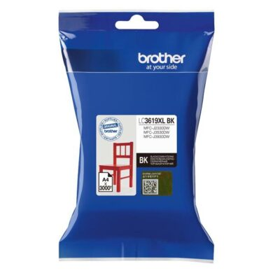 Brother LC3619XLBK - originální - Černá extraobjemová na 3000 stran(031-04520)