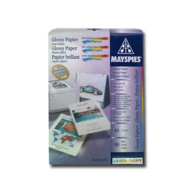 Fotopapír A4 pro laser. tiskárny - bal. 50 listů - lesklý - 115 gr.(060-00020)