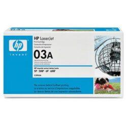 HP C3903A (03A) - originální - Černá na 4000 stran