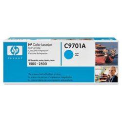 HP C9701A (121A) - originální - Cyan na 4000 stran