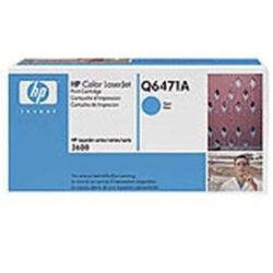 HP Q6471A (502A) - originální - Cyan na 4000 stran