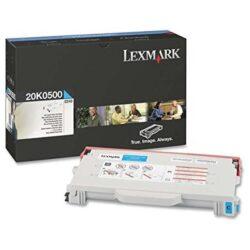 Lexmark 20K0500 - originální - Cyan na 3000 stran