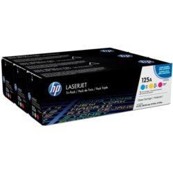 HP CF373A (125A) - originální - Sada barev (C-M-Y)