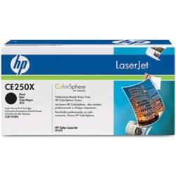 HP CE250X (504X) - originální - Černá velkoobjemová na 10500 stran