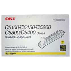 OKI 42126605 (EP-CART-Y-C5100) - originální - Fotojednotka YE na 17000 stran