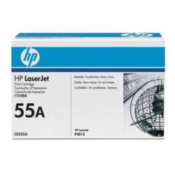 HP CE255A (55A) - originální - Černá na 6000 stran