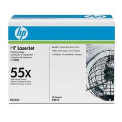 HP CE255X (55X) - originální - Černá velkoobjemová na 12500 stran