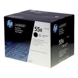 HP CE255XD (55X) - originální - Černá - Sada multipack na 25000 stran