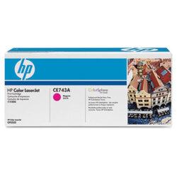 HP CE743A (307A) - originální - Magenta na 7300 stran