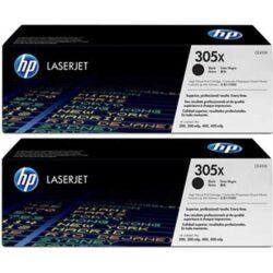 HP CE410XD (305X) - originální - Černá - Sada multipack na 8000 stran