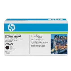 HP CE260X (649X) - originální - Černá velkoobjemová na 17000 stran
