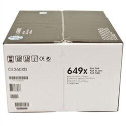 HP CE260XD (649X) - originální - Černá - Sada multipack na 34000 stran