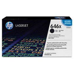 HP CE264X (646X) - originální - Černá velkoobjemová na 17000 stran