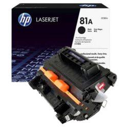HP CF281A (81A) - originální - Černá na 10500 stran