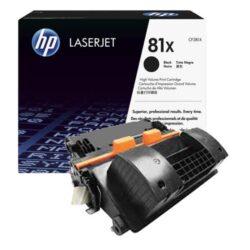 HP CF281X (81X) - originální - Černá velkoobjemová na 25000 stran