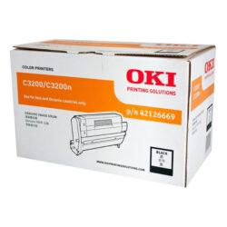 OKI 42126665 (EP-CART-K-C3200) - originální - Fotojednotka BK na 14000 stran