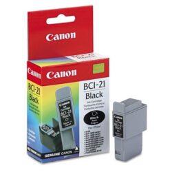 Canon BCI-21Bk - originální - Černá