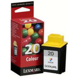 Lexmark 15MX120E (20) - originální - Cyan velkoobjemová na 450 stran