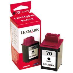 Lexmark 12AX970E (70) - originální - Černá velkoobjemová na 600 stran