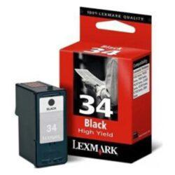 Lexmark 18C0034E (34XL) - originální - Černá velkoobjemová na 475 stran