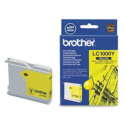 Brother LC1000Y - originální - Yellow na 400 stran