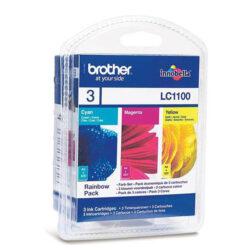 Brother LC1100CMY - originální - Sada barev (C-M-Y)