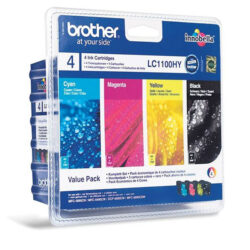 Brother LC1100HBCMY - originální - Černá + sada barev