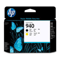 HP C4900A head no.940 black / yellow - originální
