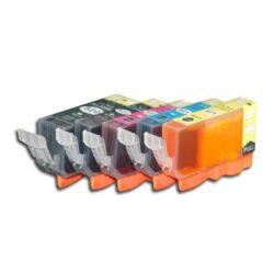 Canon CLI-521 C/M/Y/Bk - kompatibilní - sada barev + černá 520Bk