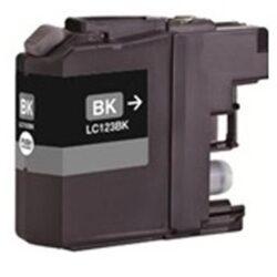 Brother LC123BK - kompatibilní - Černá velkoobjemová na 600 stran