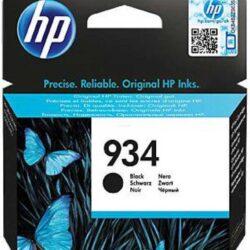 HP C2P19AE (934) - originální - Černá na 400 stran