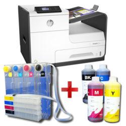 Tiskárna HP PageWide 352dw + CISS systém + 4l inkoustu