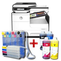 Tiskárna HP PageWide 377dw + CISS systém + 4l inkoustu